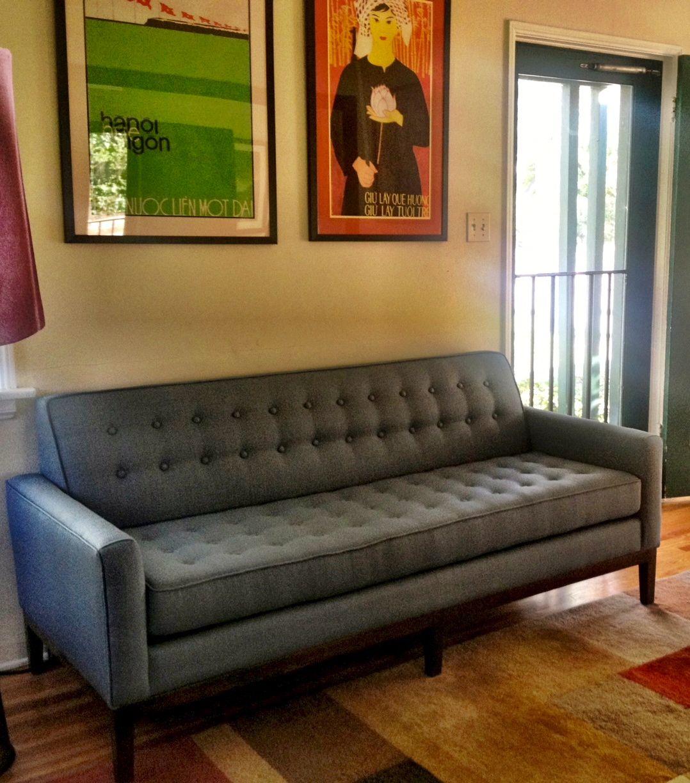Pin by The Sofa Company on Mid Century Sofas | Custom sofa ...