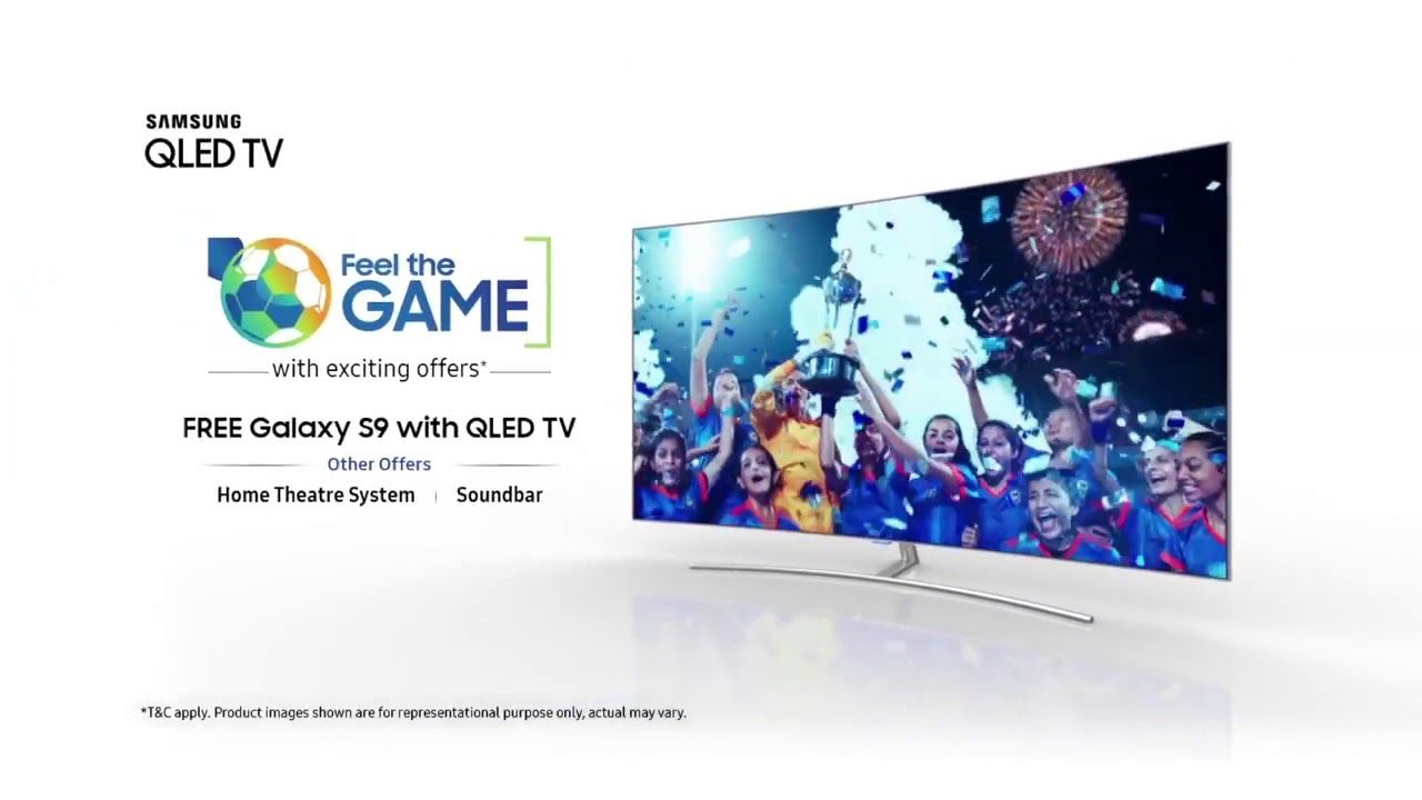 Buy A Samsung Qledtv And Get A Free Samsung Galaxy S9128gb Worth