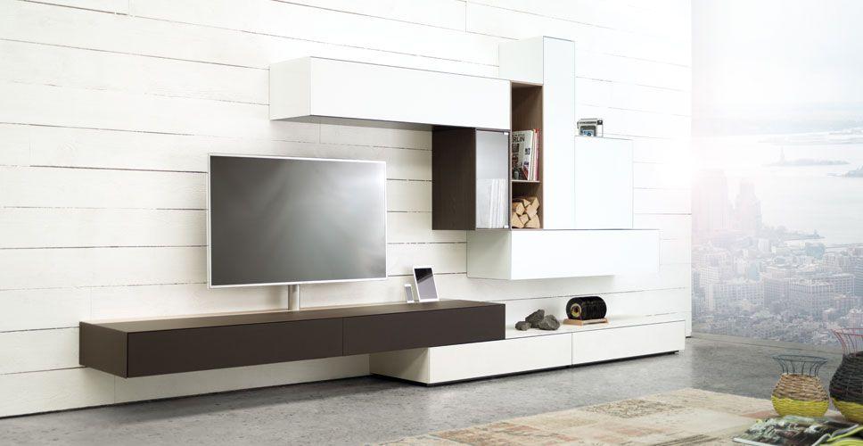 Spectral ameno tv möbel braun in wohnlandschaft bei funkhaus