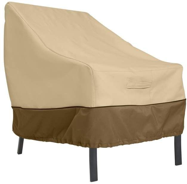 Freeport Park Donahue Water Resistant Patio Chair Cover In