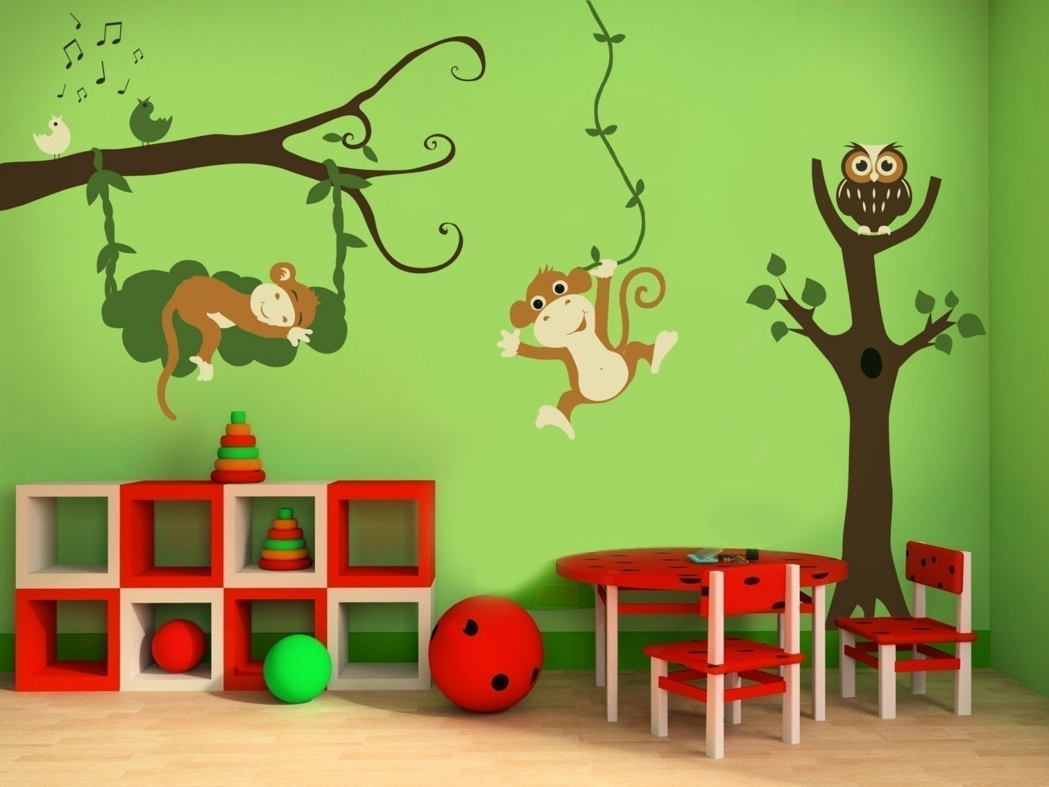 Nursery themes decorating ideas for a church nursery1 Nursery wall ideas