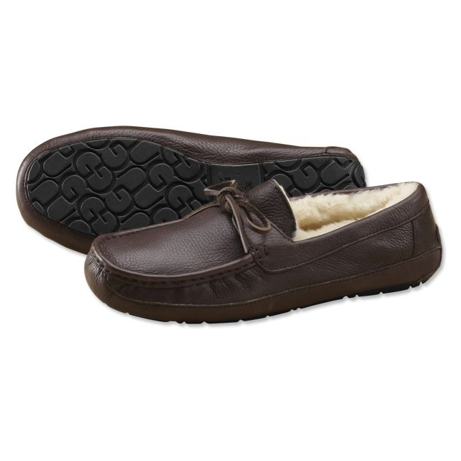 mens black ugg moccasins