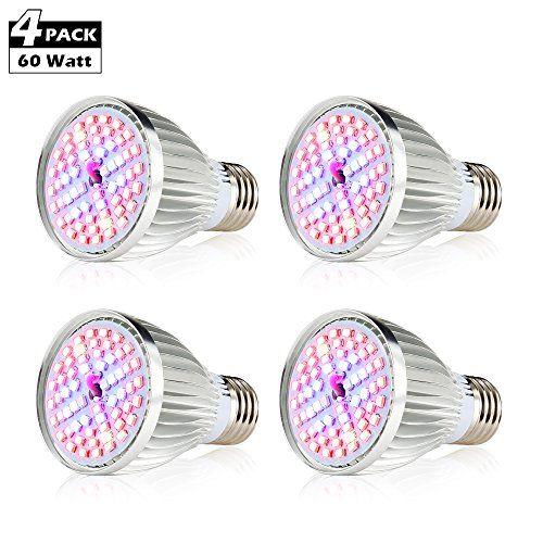 Create Bright Led Grow Light Bulb 60W Plant Light Bulb 640 x 480