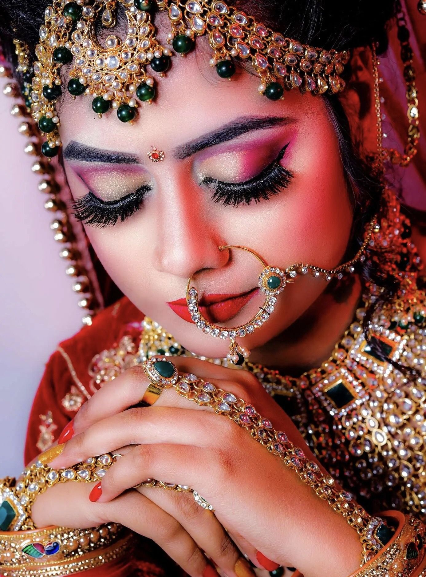 Pin by Natalie on Bridal Makeup Images in 2020 Bridal