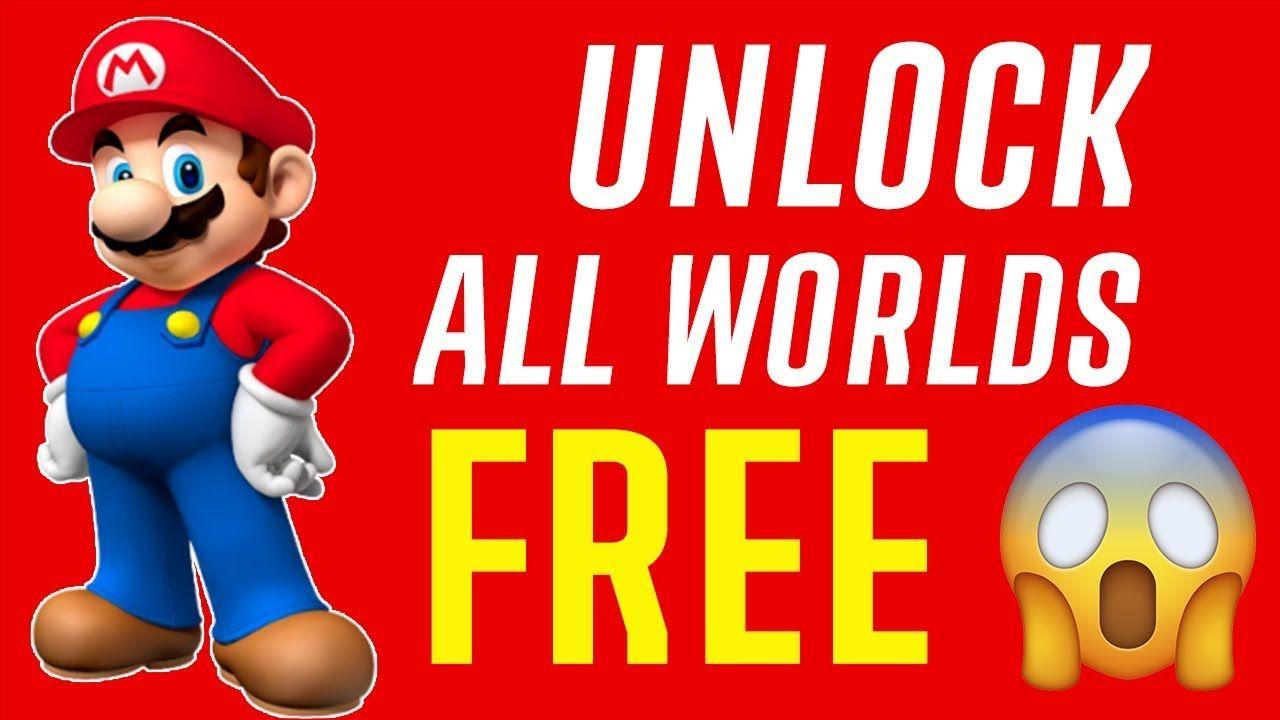 New Super Mario Run Hack Unlock All Super Mario Run Levels Free Go Super Mario Run Mario Run Super Mario