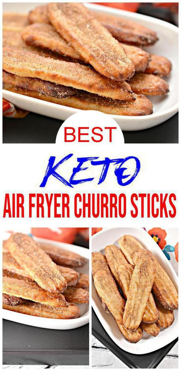 Low Carb Churro! {EASY} simple ingredient keto cinnamon