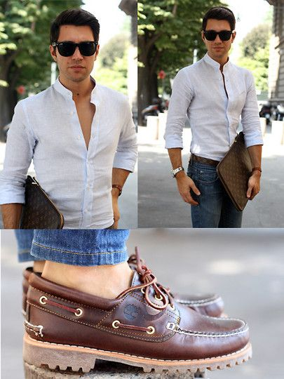 Timberland Shoes, Louis Vuitton Case, Tailor Made Linen Shirt 30003  boatshoes