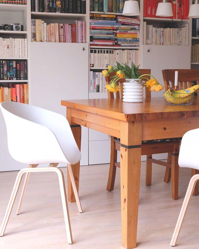 Einrichtung  Leben Wir haben neue HAY Stühle in unserem Esszimmer