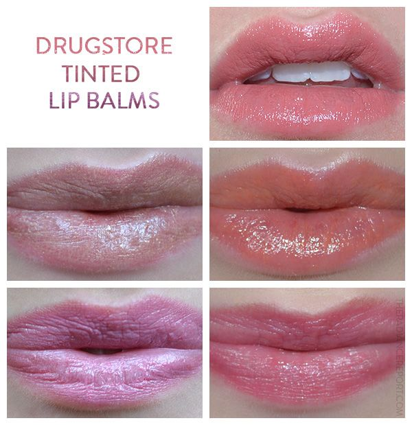 Five Tinted Lip Balms From The Drugstore With Images Tinted