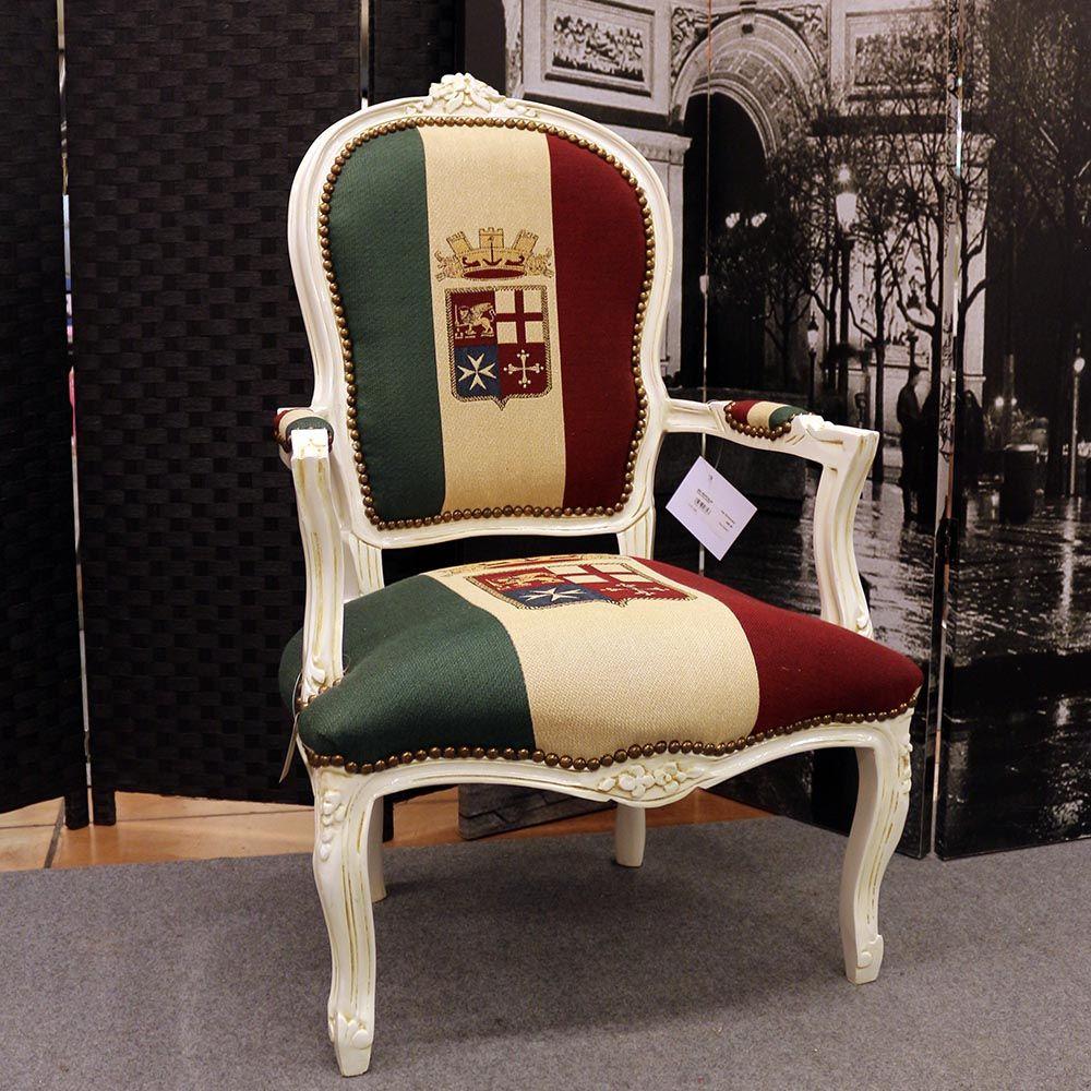 Poltrona barocco bandiera italia mobili barocco moderno pinterest - Mobili barocco moderno ...