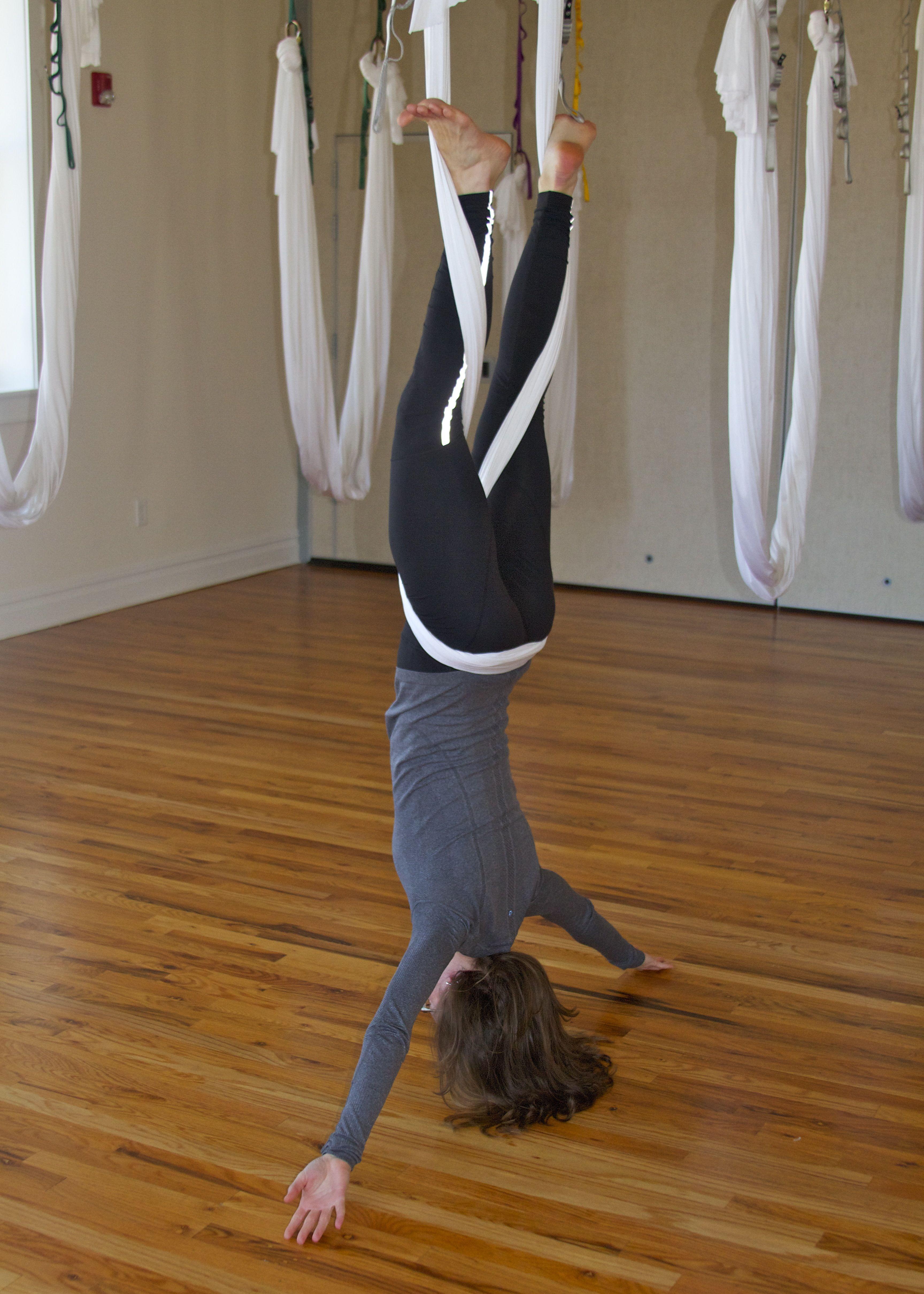 Anti gravity yoga aerial yoga yoga challenge poses