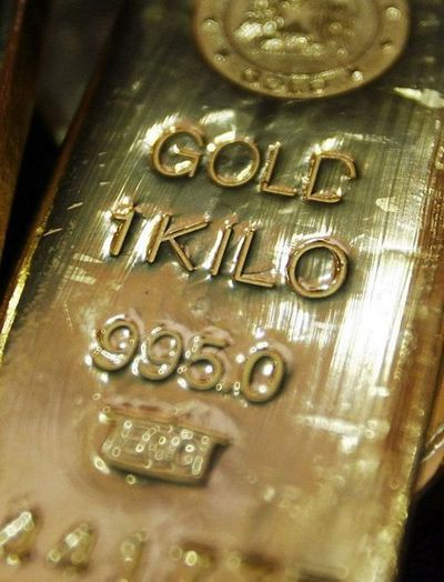 Solid Gold Bar Now That Is Hedging