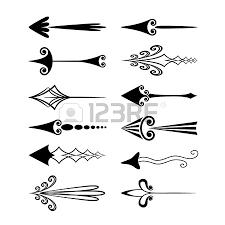 Resultado de imagen para flechas vintage vector  dibujos  Pinterest