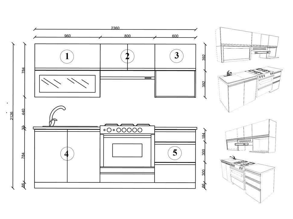 Pin de andie ortiz en proyecto cocina pinterest for Medidas para hacer un mueble de cocina