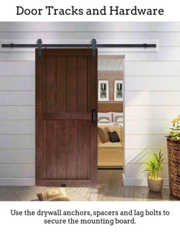 Barndoor Hardware Acquire Barn Door Sliding Door Plus Flat Track