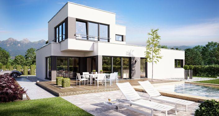 Hausbau Architekt architekten haus superio büdenbender hausbau architektenhäuser