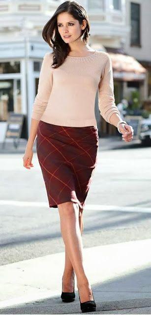 DIY Pencil Skirt - FREE Sewing Pattern | SEWING & REFASHIONING ...