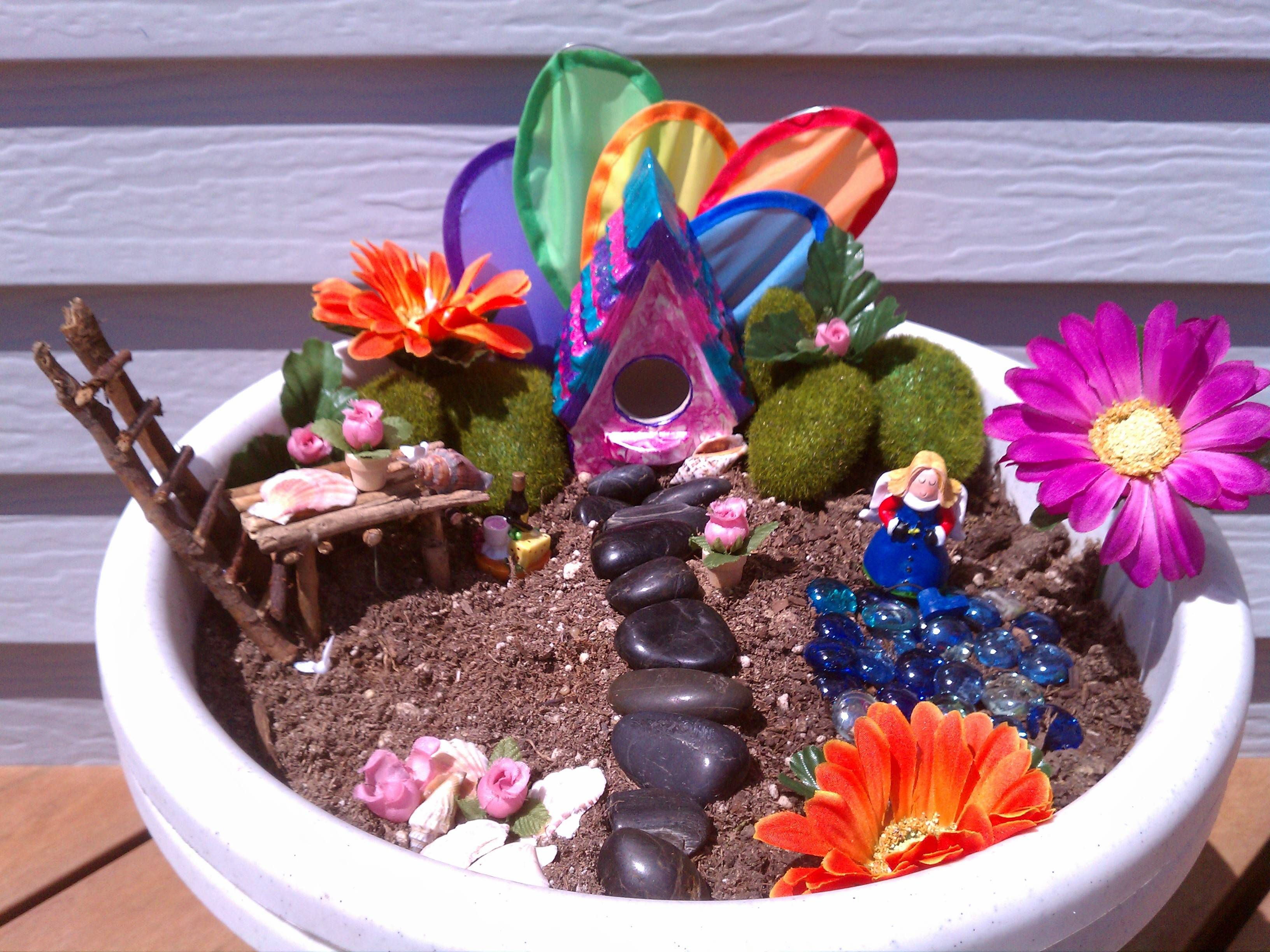 Our Fairy Garden~ Welcome all Fairies!