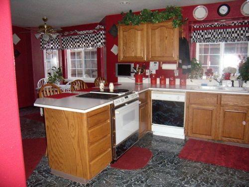 Wonderful Kitchen Decorating Ideas With Apple Theme Apple