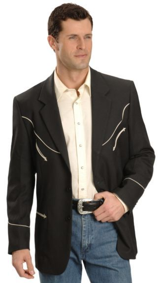 1b73856877967 Scully Black Retro Western Jacket available at  Sheplers