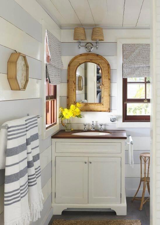 Beach bathroom decor inspiration at sugarsbeach amazing coastal bath decorating ideas also interior design guy interiordesignguy on pinterest rh