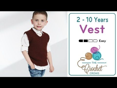Introducing this cute crochet vest that comes in 5 sizes starting introducing this cute crochet vest that comes in 5 sizes starting with toddlers sizes include fandeluxe Gallery