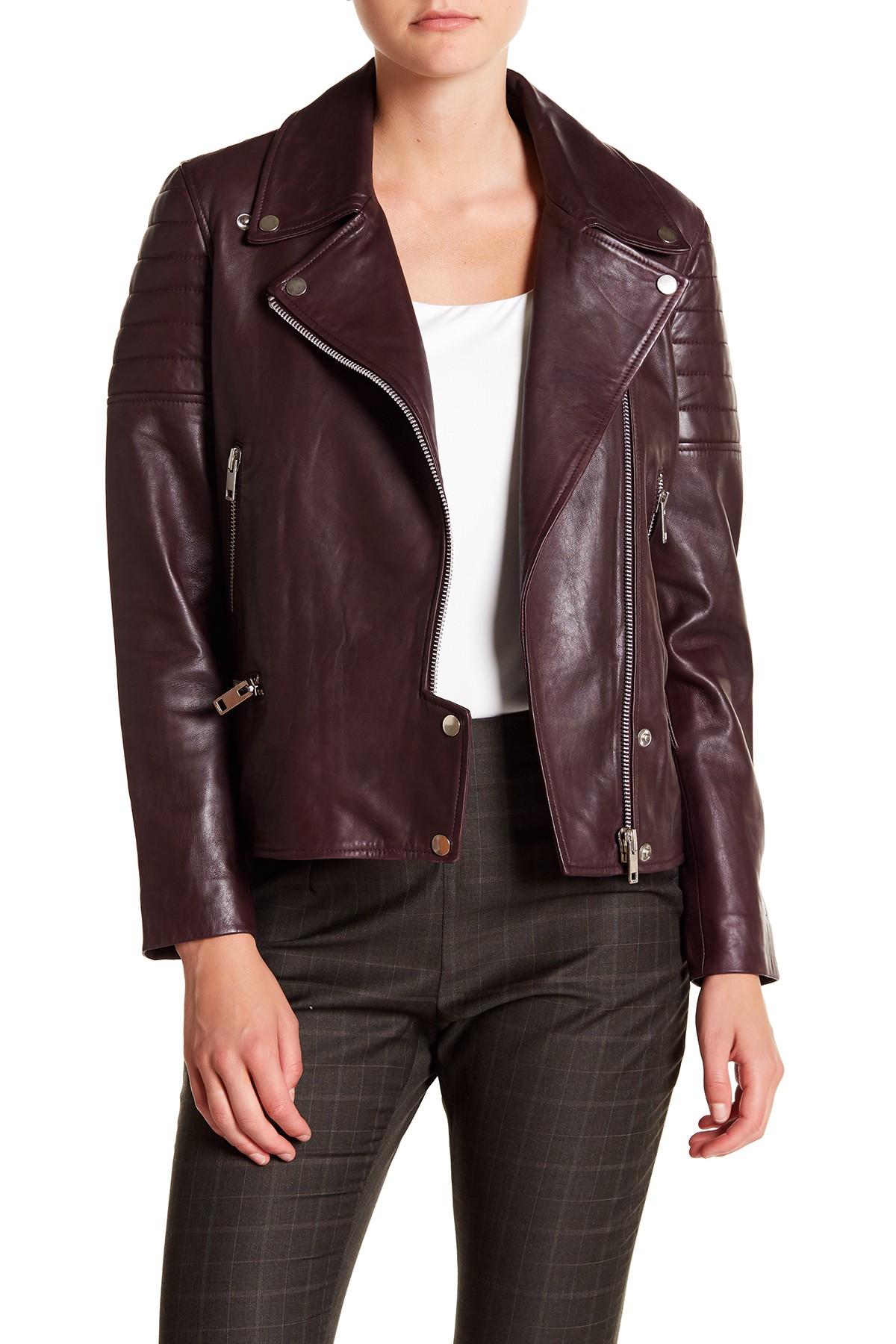 Walter Baker Alea Leather Jacket Nordstrom Rack
