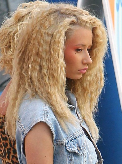 Cool Iggy Azalea New Fancy Braided Long Hairstyles Pictures