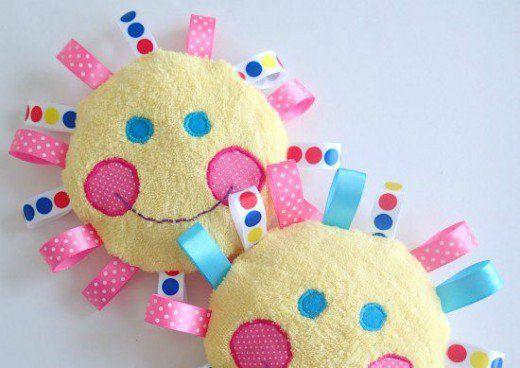 49 Craft Ideas Using Ribbons Handmade Baby Toys Diy Baby Stuff
