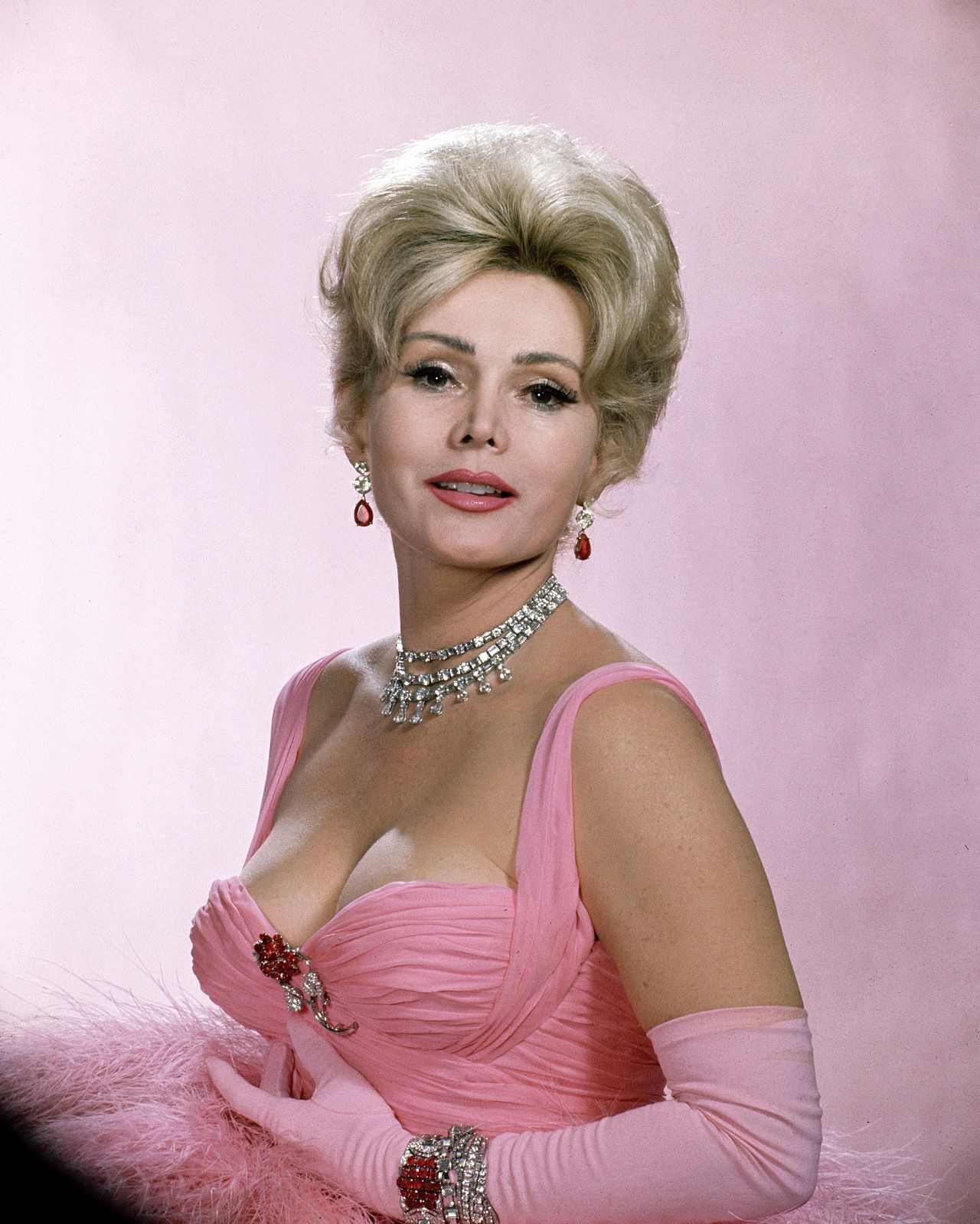 Zsa Zsa Gabor - A man with a fat bank account can\'t be ugly ...