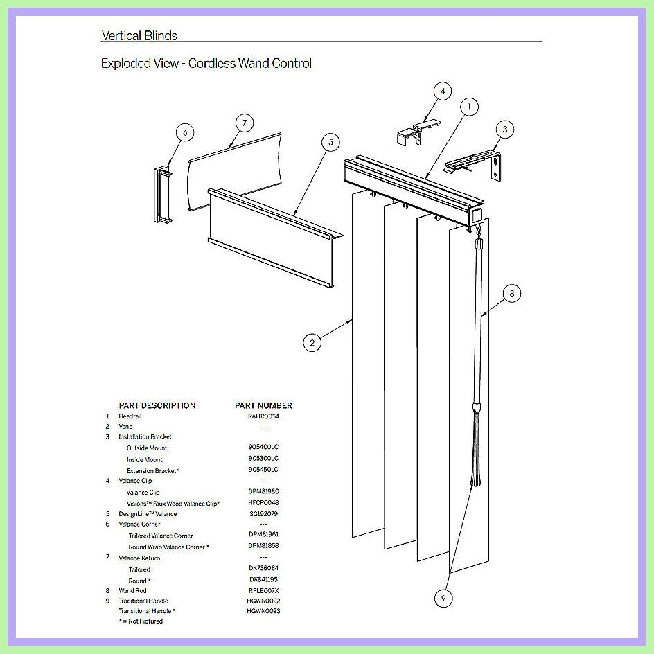 77 Reference Of Blind Parts Names In 2020 Blind Repair Horizontal Blinds Vertical Blind Parts