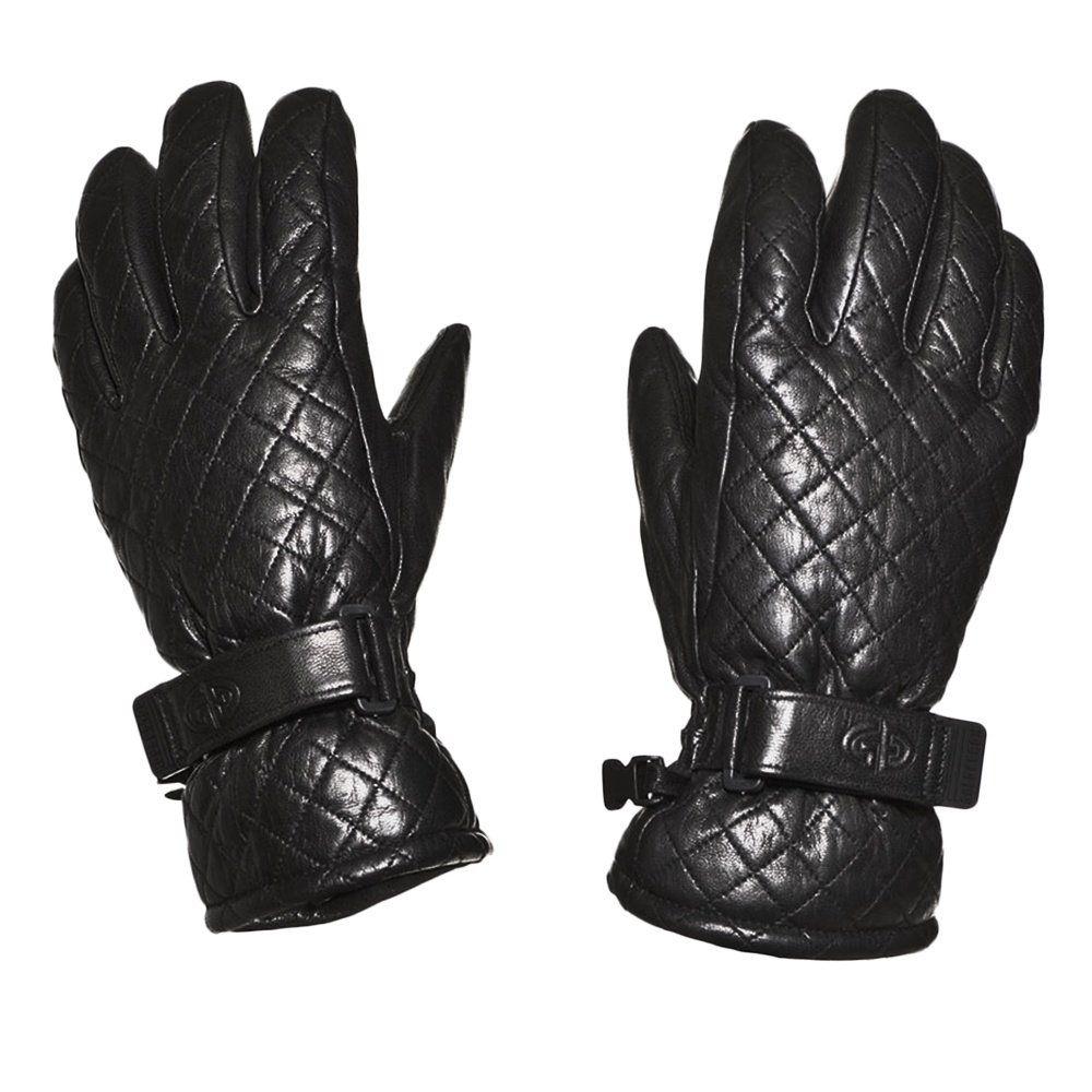 Womens leather ski gloves - Goldbergh Amelie Quilted Leather Ski Glove Women S Peter Glenn