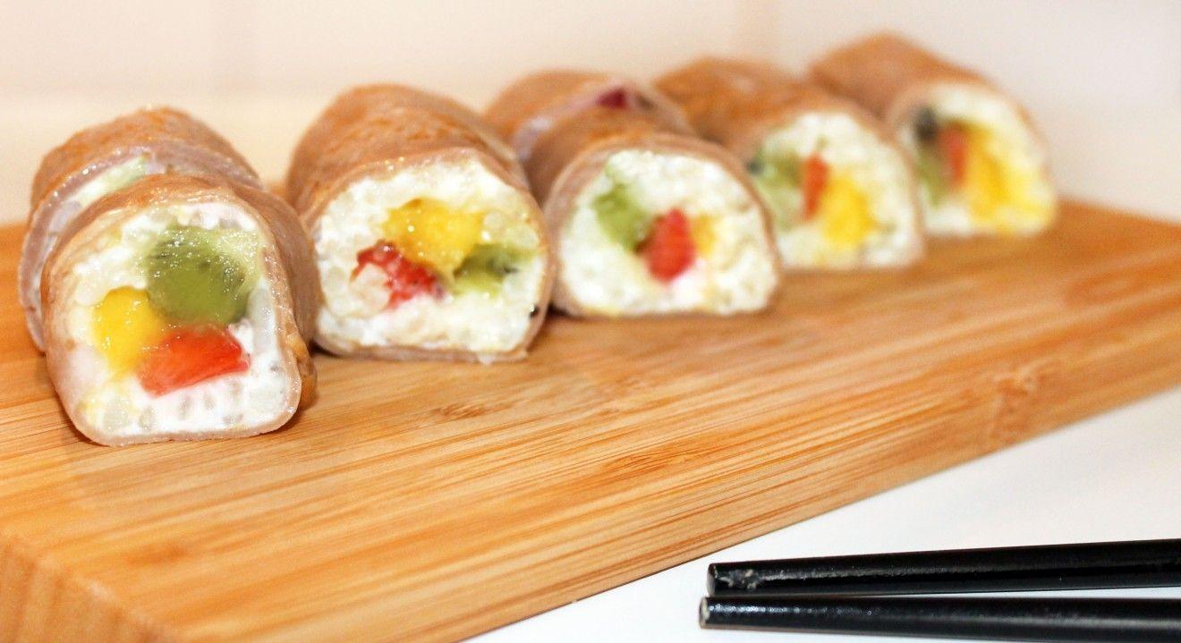 Sushi dulce ideas pinterest postres y cocinas - Cocinar sushi facil ...