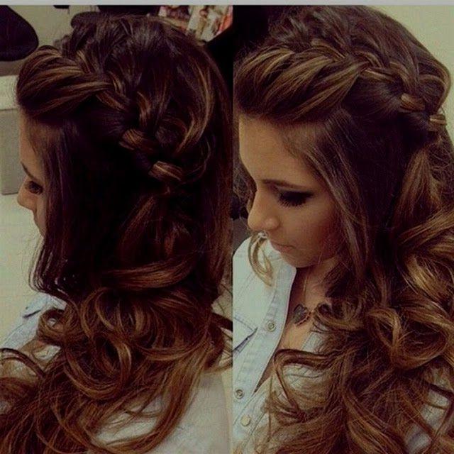 Festliche Frisuren Lange Haare Hochzeit Pinterest Festliche
