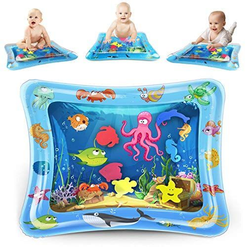 KidPal Baby Tummy Time Mat for Infant 6 7 8 9 10 12 Month, Inflatable Water Play...