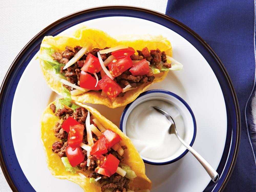 Juicy Ground Beef Tacos #groundbeeftacos