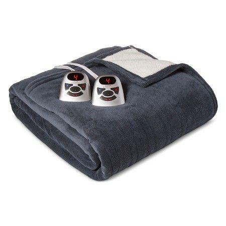 Electric Microplush X2f Sherpa Blankets Biddeford Target Sherpa Blanket Biddeford Blankets
