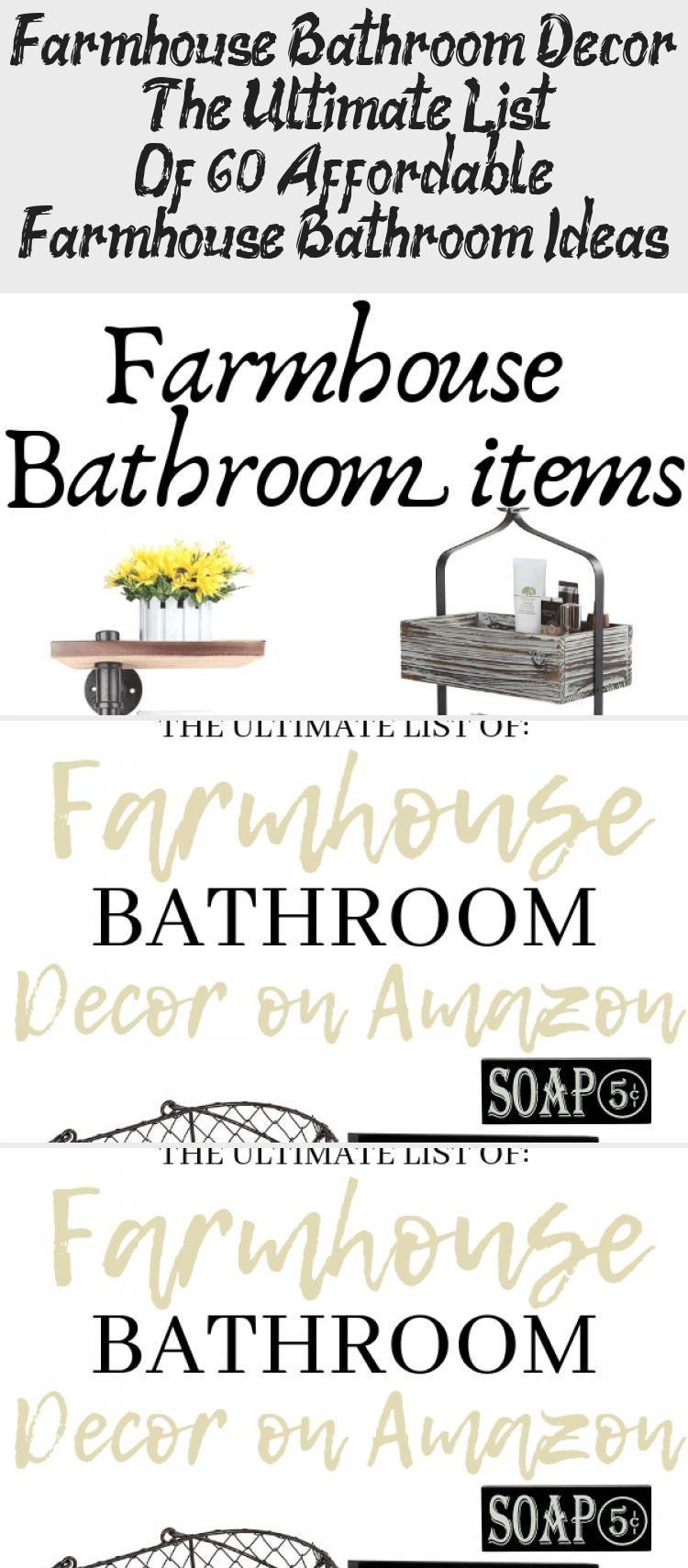 Photo of Farmhouse Bathroom Decor – The Ultimate List Of 60+ Affordable Farmhouse Bathr…