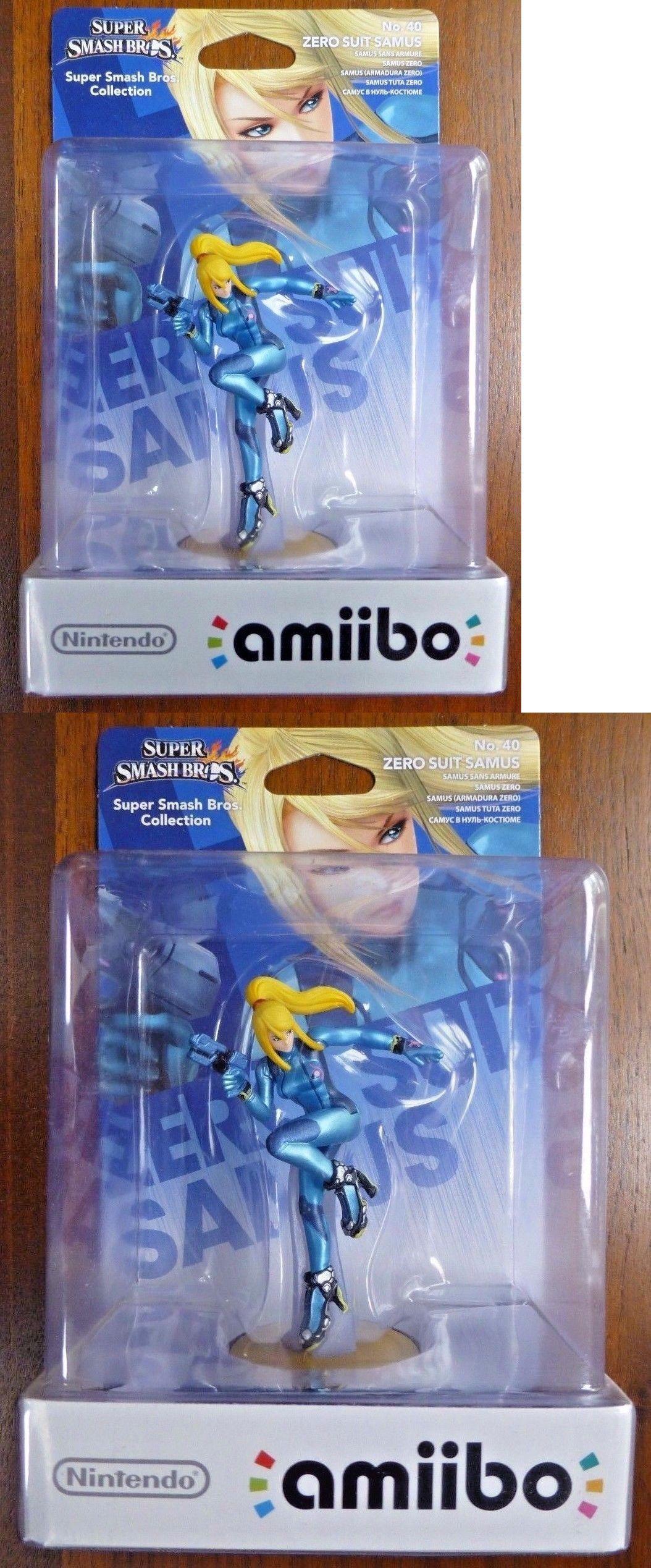 toys to life 182180 zero suit samus amiibo super smash bros nintendo switch wii u 3ds new buy it now only 14 99 on ebay samus amiibo super smash n