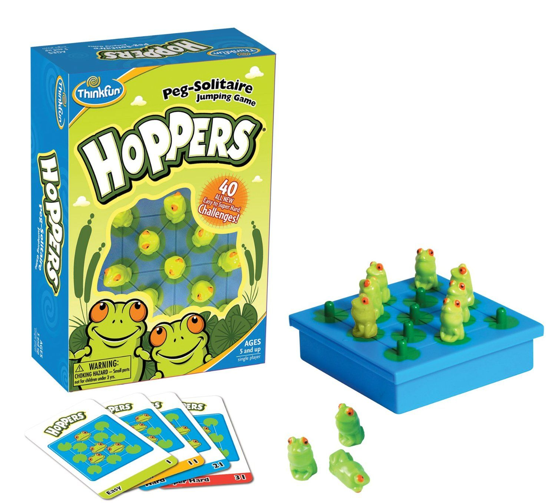 Hoppers {ThinkFun} Games, Board games, Thinkfun games