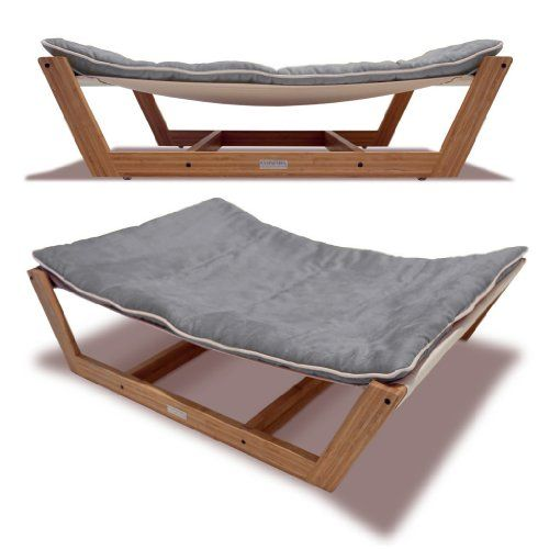Special Offers - Bed Hammock Pet Bed 45.75 by 34.25 by 10.5-Inch Graphite Gray - In stock & Free Shipping. You can save more money! Check It (August 18 2016 at 12:35PM) >> http://doghousesusa.net/bed-hammock-pet-bed-45-75-by-34-25-by-10-5-inch-graphite-gray/