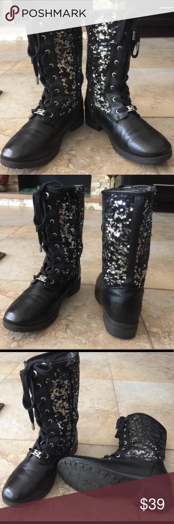 Michael Kors Glitter Girl's boots size