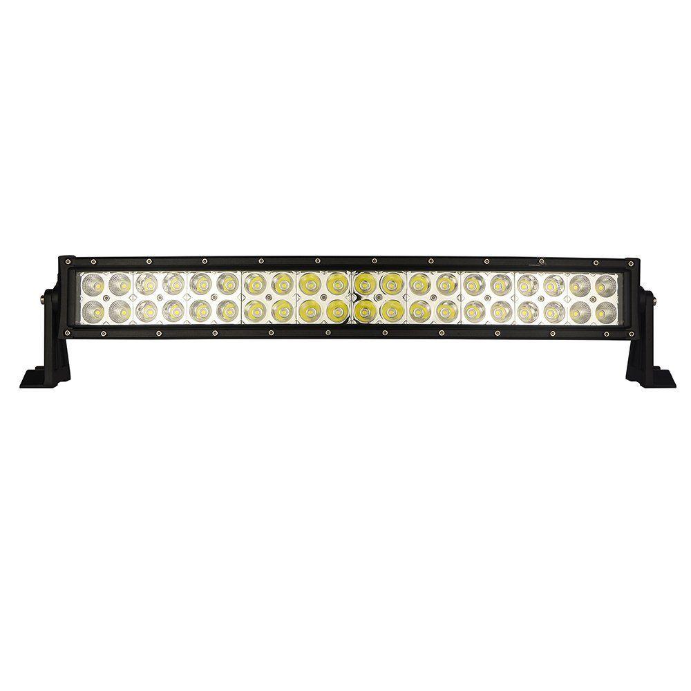 Amazoncom Mictuning 22 120w 3b139c Curved Led Work Light Bar Wiring Lights