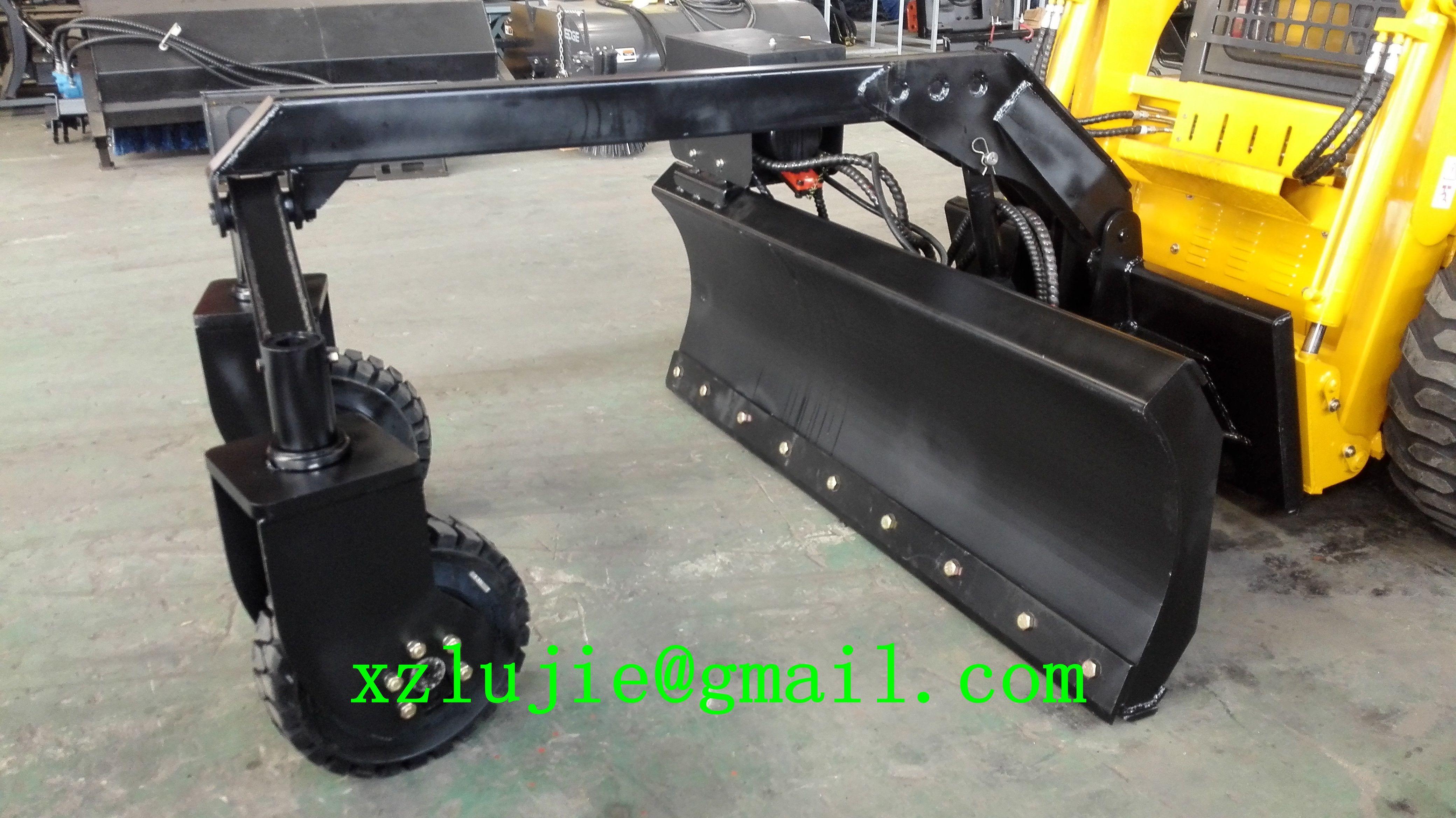 skid steer loader grader attachments,www.xzlujie.com