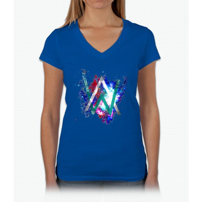 alan walker Womens VNeck TShirt shirts, Cool t