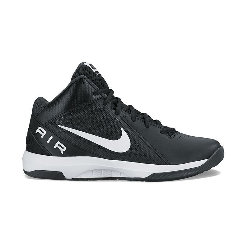 Nike The Air Overplay IX Men\u0027s Basketball Shoes, Size: 11.5 Wide, Black