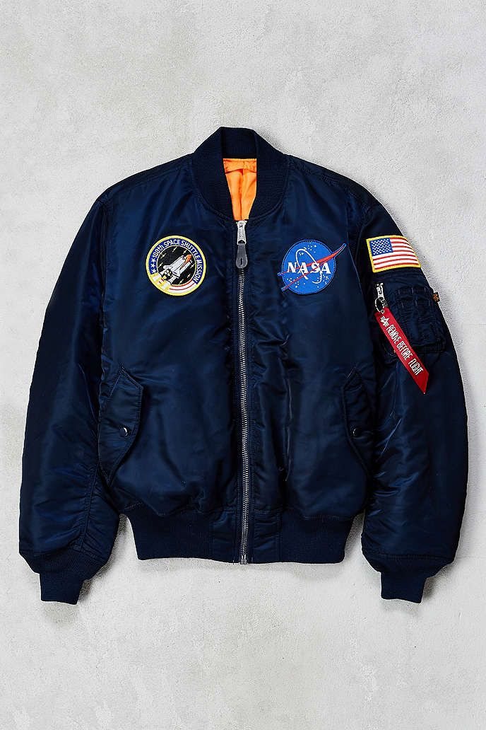 0410dbc7164 Alpha Industries NASA MA-1 Bomber Jacket - Urban Outfitters