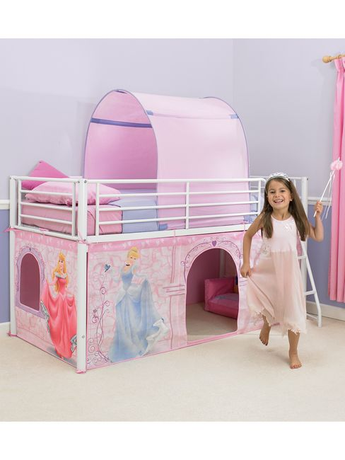 Disney Princess Mid-Sleeper Cabin Bed Tent Pack Canopy  sc 1 st  Pinterest : cabin bed tent pack - memphite.com