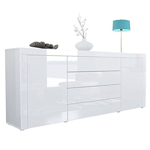 Sideboard Chest Of Drawers La Paz Carcass In White High Https Www Amazon Co Uk Dp B00niu2f66 Ref Cm Sw Home Goods Decor Furniture Sideboards Living Room