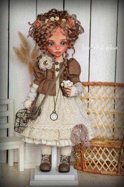 Авторская текстильная кукла. фото #4